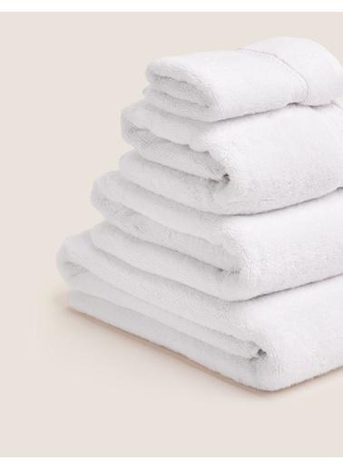 Marks & Spencer Organik Pamuklu Havlu Beyaz